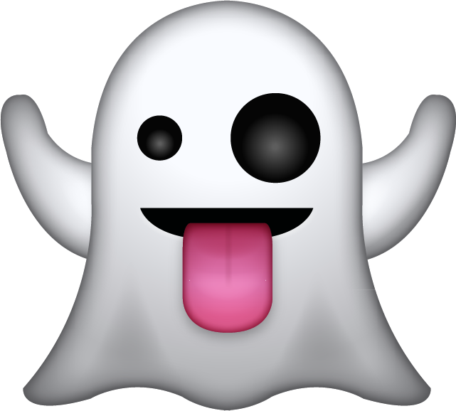 halloween ghost icons