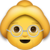 Download Grandma Iphone Emoji JPG