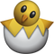 Download Hatching Chick Emoji