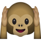 Download Hear No Evil Monkey Emoji