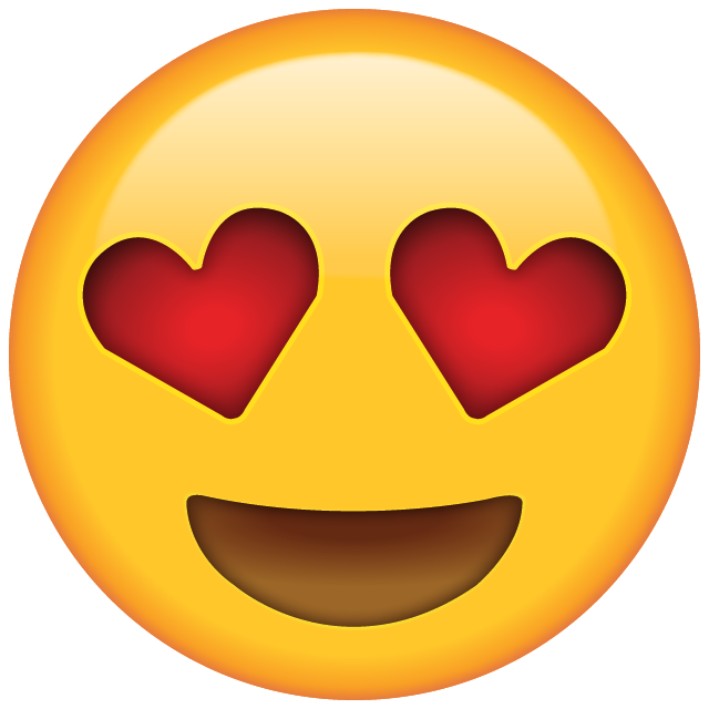 Download Heart Eyes Emoji Icon | Emoji Island