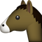 Download Horse Emoji In PNG