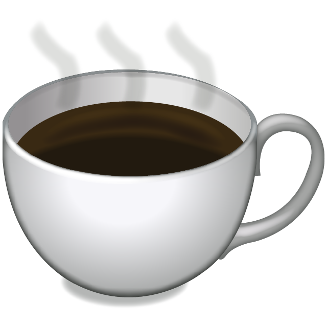 Image result for coffee cup emojis