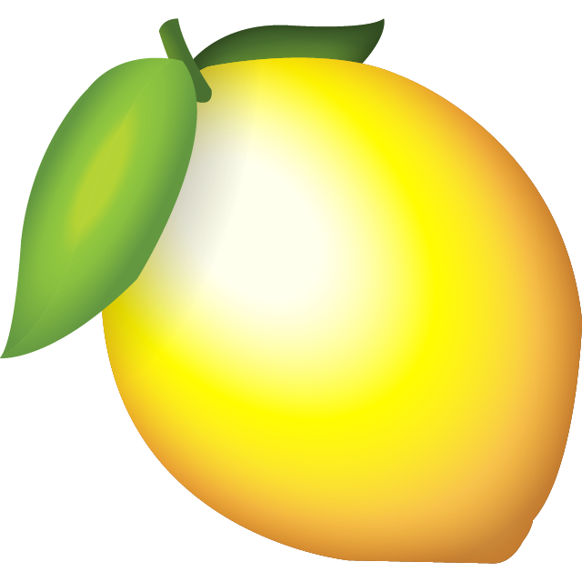 Download Lemon Emoji