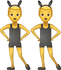 Download Men With Bunny Ears Iphone Emoji JPG