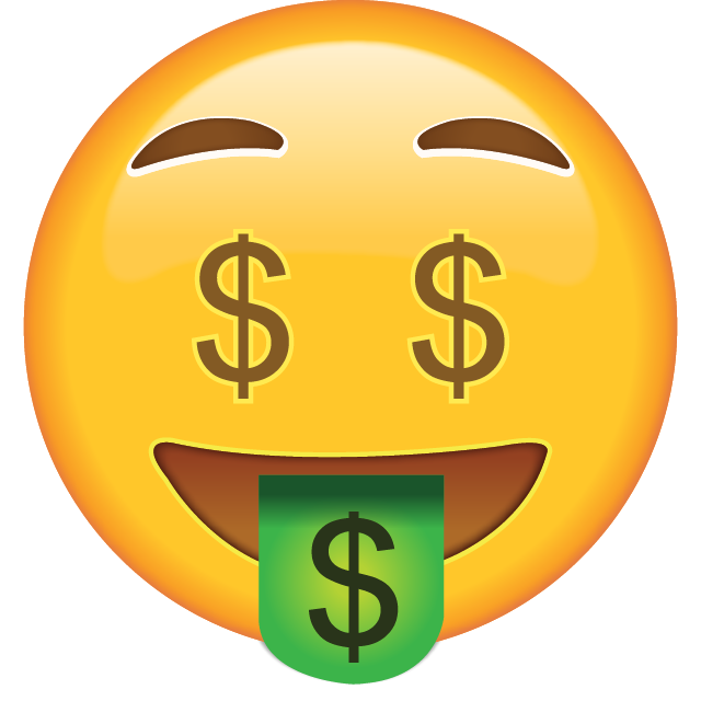 Image result for money emoji