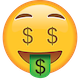 Download Money Emoji [Free PNG - Apple Emoji Images]