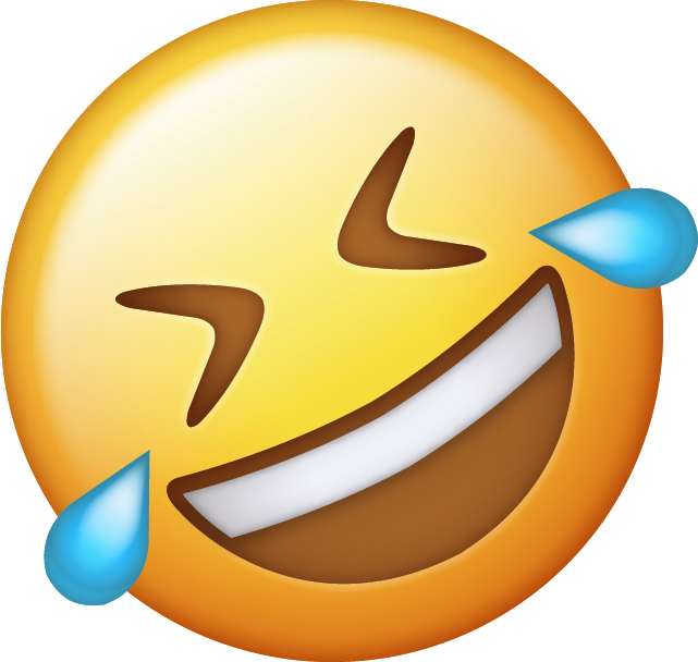 Download New Tears of Joy Emoji Icon