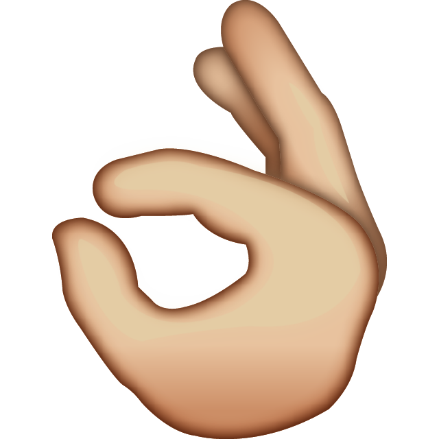 Download Ok Hand Sign Emoji