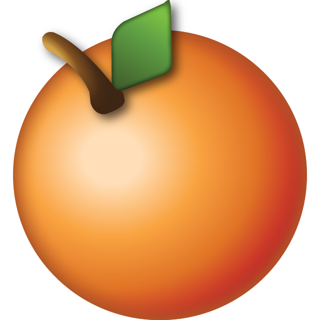 Download Orange Emoji