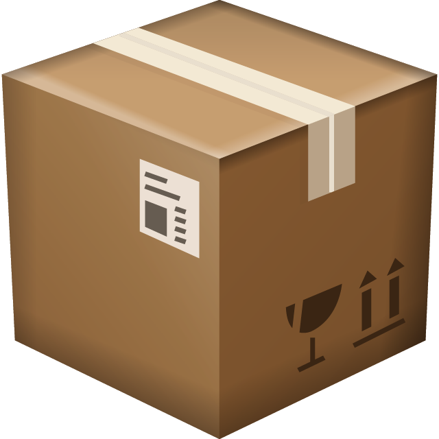 Download Package Box Emoji