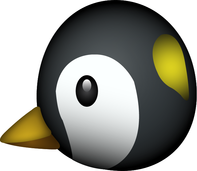 Download Penguin Emoji In PNG