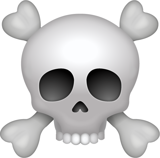 Download Pirate Skull Emoji Icon