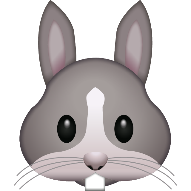 Download Rabbit Face Emoji