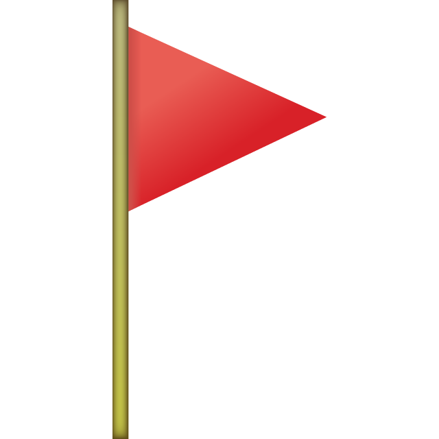 Download Red Flag Emoji