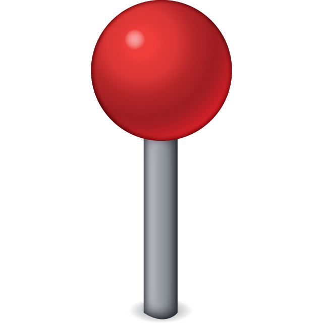 Download Red Pin Emoji