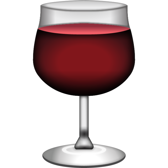 Download Red Wine Emoji