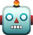 Download Robot Emoji face [Iphone IOS Emojis in PNG]