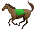 Download Running Horse Iphone Emoji JPG