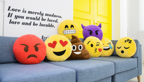 emoji pillows emoticon pillow cushions