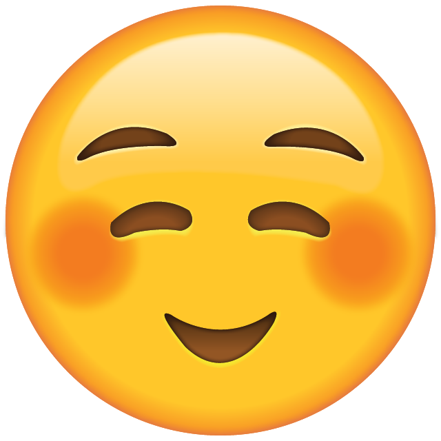 Download Shyly Smiling Face Emoji
