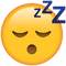 Download Sleeping Emoji