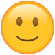 Download Slightly Smiling Face Emoji