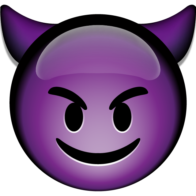 Download Smiling Devil Emoji