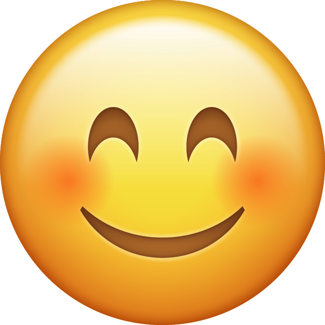 Download Smiling Emoji Icon Blushed