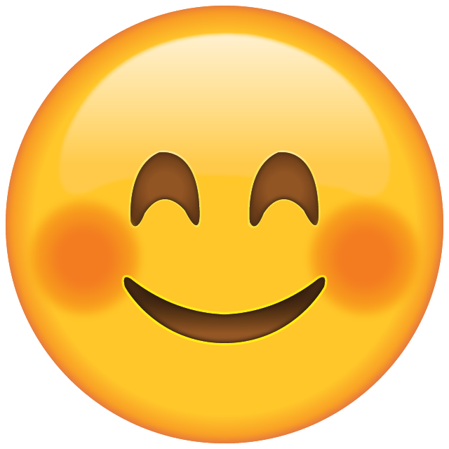 Download Smiling Face Emoji with Blushed Cheeks | Emoji Island