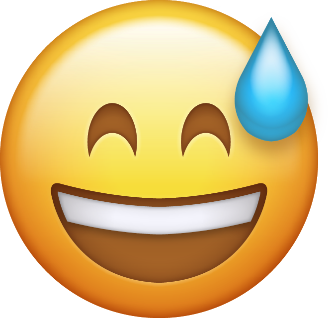 Download Sweat Emoji Icon
