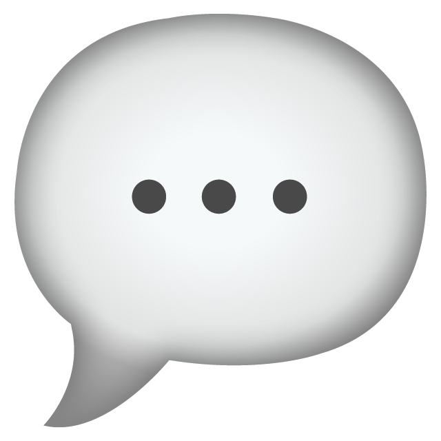 Download Speech Bubble Emoji