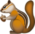 Download Squirrel Iphone Emoji JPG