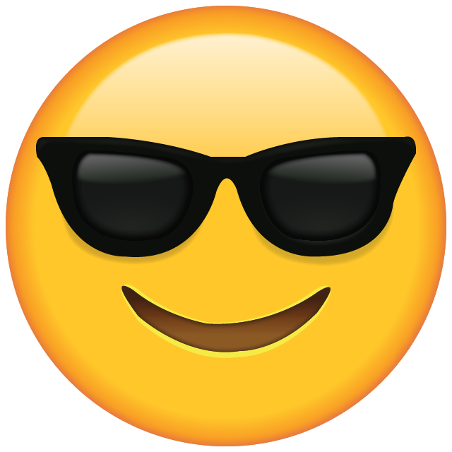 Download Sunglasses Emoji