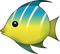 Download Tropical Fish Emoji In PNG