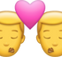 Download Two Men Kiss Iphone Emoji JPG