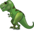 Download Tyrannosaurus Rex Iphone Emoji JPG