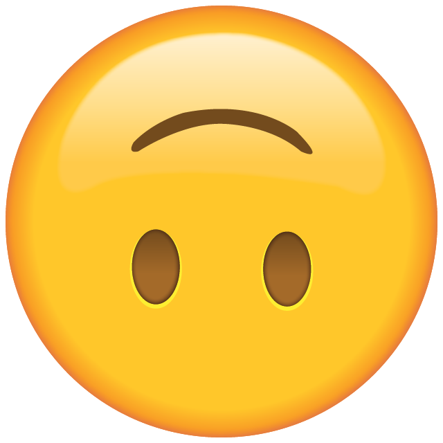 Image result for upside down smiley emoji