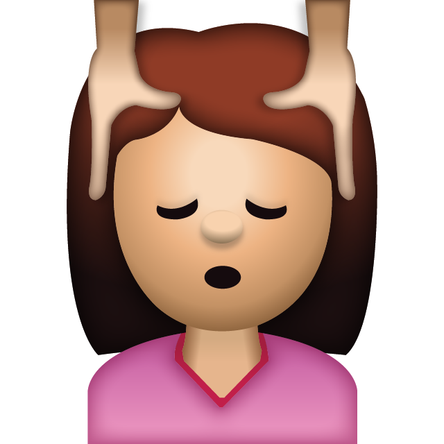 Download Woman Face Massage Emoji