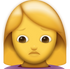 Download Woman Pouting Iphone Emoji JPG