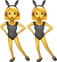 Download Women With Bunny Ears Iphone Emoji JPG