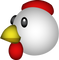 Download Chicken Emoji In PNG