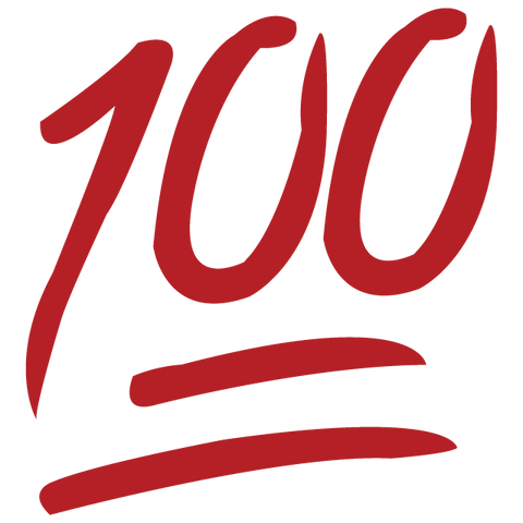 Download Perfect 100 Emoji Icon