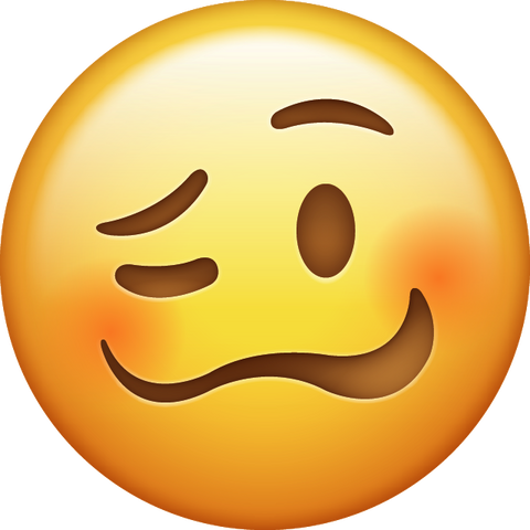 Download Drunk Face Emoji [Iphone IOS Emoji PNG]