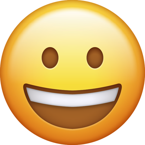 Download Smile Emoji [Iphone IOS Emoji PNG]