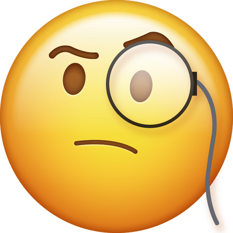 Download New Thinking Emoji [Iphone IOS Emoji PNG]