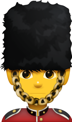 Download Guardsman Emoji [Iphone IOS Emoji PNG]