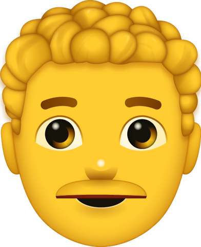 Download Yellow Man Emoji [Iphone IOS Emoji PNG]