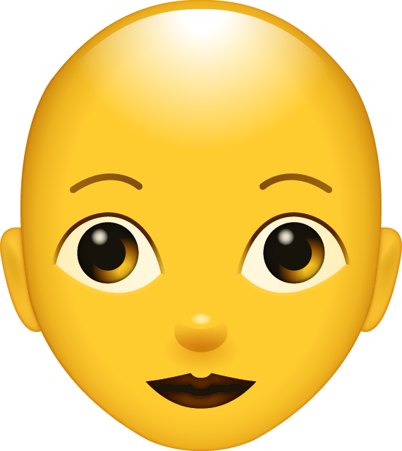 Bald Woman Emoji