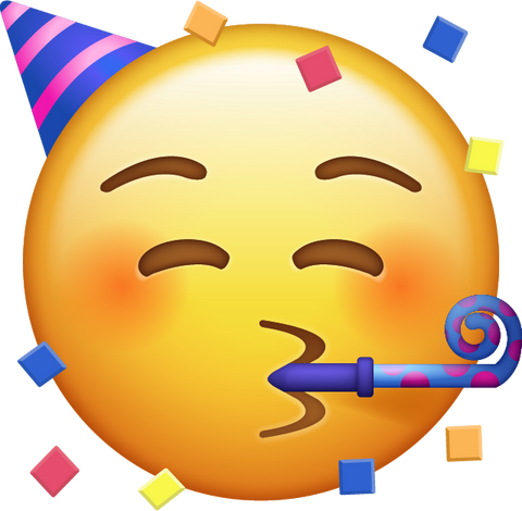 Slikovni rezultat za party emoji